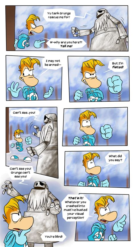 Rayman Neocreation Day Fan Comic Page 17 By Earthgwee On