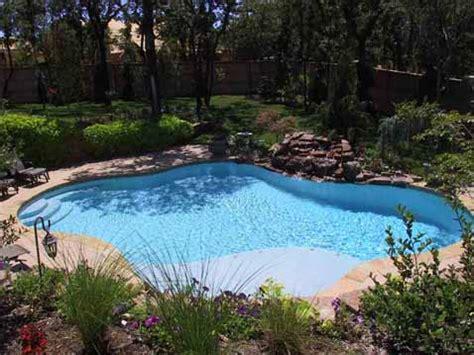 Inground Swimming Pool Landscaping  Home Interior Design