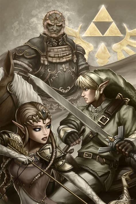The Legend Of Zelda Fan Art Created By Brandon Dunn