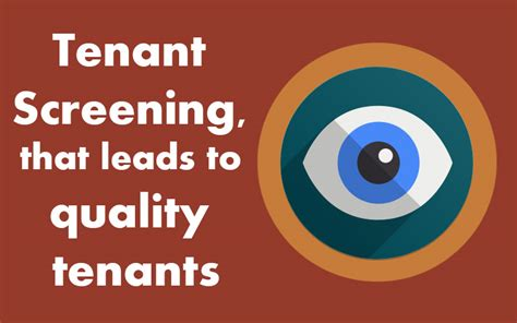 tenant screening  leads  quality tenants mafadi