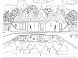 Coloring Colouring Adults Scenery Pages Scene Adult Travel Printable Beach Bestcoloringpagesforkids Intheplayroom Scenes Forest Zentangle Halloween Grown Ups Inspired sketch template