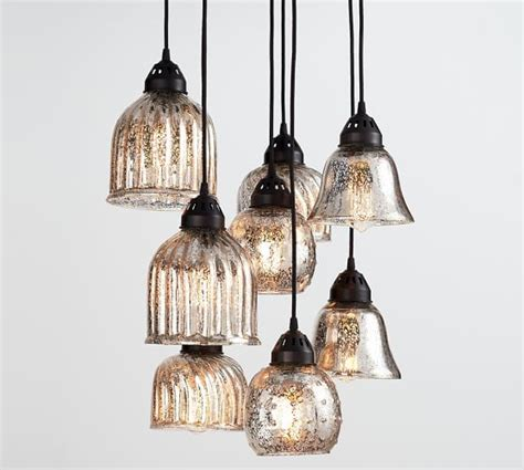 kenzie mercury chandelier pottery barn