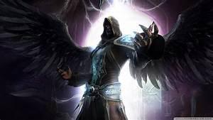 Dark Angel Force Wings Dark Fantasy Magician Angels N