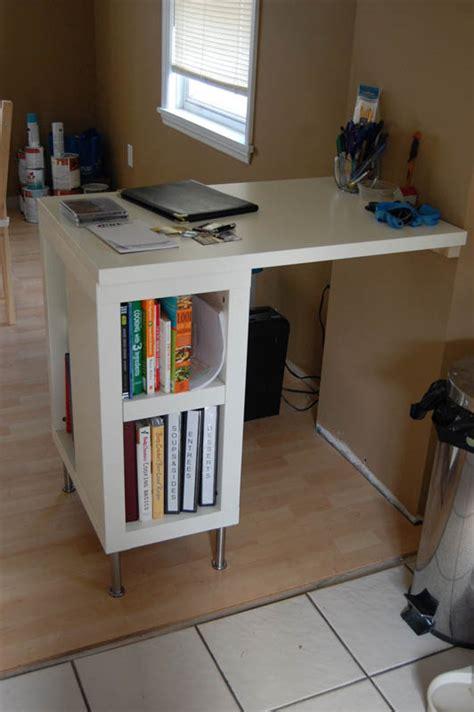 U Shaped Desk Ikea Hack by Recipe Bar Planning Desk Ikea Hackers Ikea Hackers