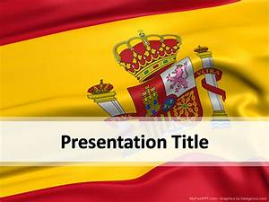 spain powerpoint template download free powerpoint ppt With spanish powerpoint templates