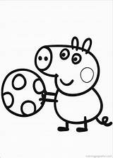 Peppa Pig Coloring Pages Printable Colouring Print Printables Sheet Colorear Activity Episodes Para Party sketch template