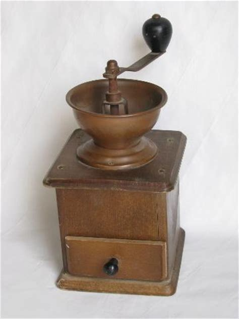 Right method for you, there really is only one other practical option that people use to grind spices, which is the good old mortar and pestle. vintage coffee grinder, old-fashioned hand-crank mill w/ wood drawer, copper bin