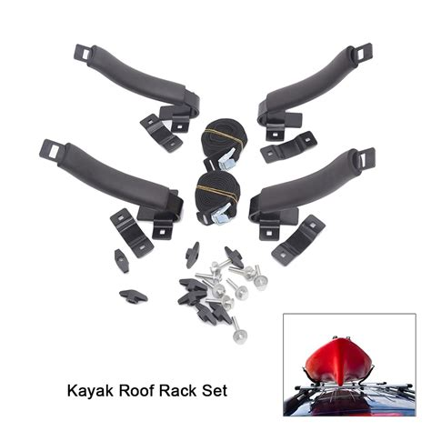 kayak roof rack set   racks top carrier holder  canoe