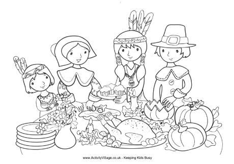 thanksgiving colouring page  thanksgiving activities