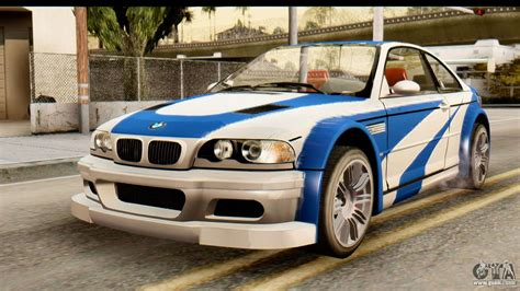 bmw m3 gtr kaufen bmw m3 e46 gtr nfs mw for gta san andreas