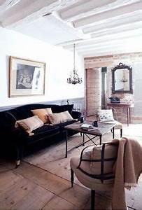 lambris peint murs peint en gris and tableaux muraux on With peindre des poutres en bois 2 8 photos de chambres avec poutres cate maison