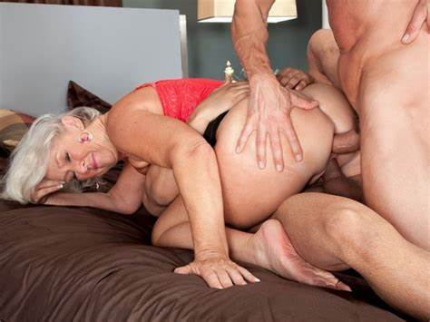Double Penetration Grey Haired Harlot