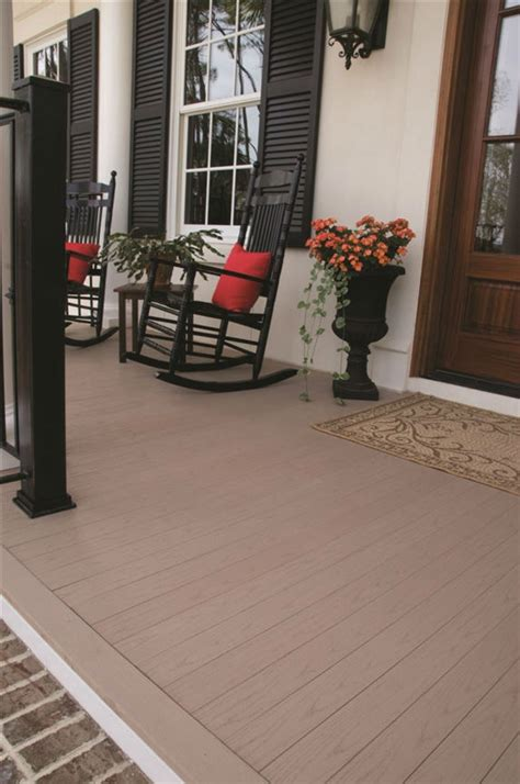 porch design ideas porch flooring building materials azek
