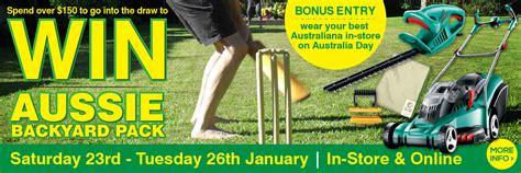 Backyard Promotions by Congratulations Aussie Backyard Promo Winners