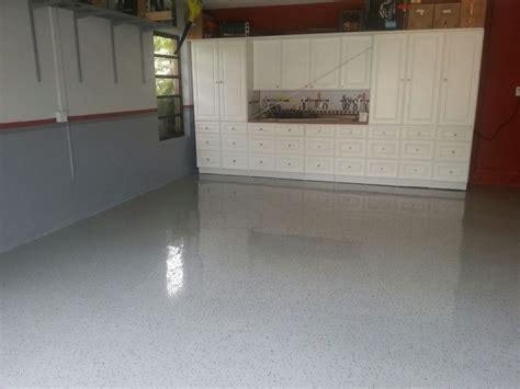 granite garage floors terrazzo finish modern shed