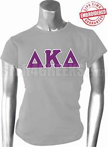 delta kappa delta greek letter t shirt heather gray With kappa delta stitched letter shirts