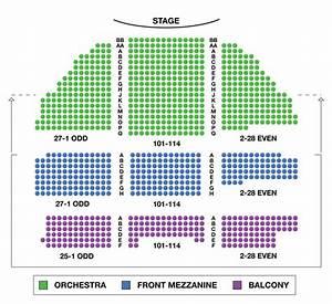 Belasco Theatre Broadway Seating Charts