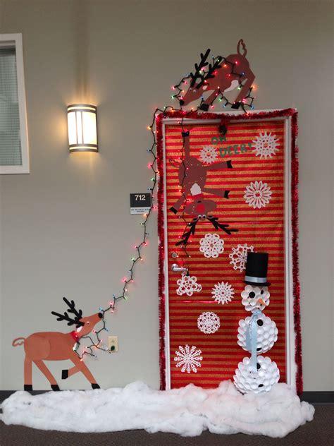 christmas door decoration  place