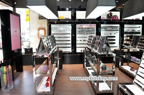 high quality cosmetic display   store  usa