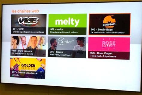chaine cuisine orange avec les chaînes web orange veut rajeunir offre tv