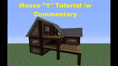 minecraft    build  spruce wood house house  youtube