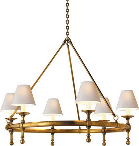 ring chandelier classic ring chandelier traditional chandeliers by
