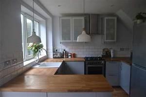 Ikea Küche L Form : ikea k che arbeitsplatte coole ideen f r k chen renovieren ~ Michelbontemps.com Haus und Dekorationen