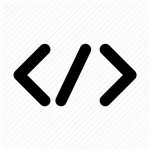 Code, coding, html, html5, markup, programming, web icon