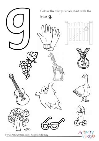 letter g colouring pages 499   start with the letter g colouring page 460