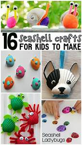 Adorable, Seashell, Craft, Ideas, For, Kids