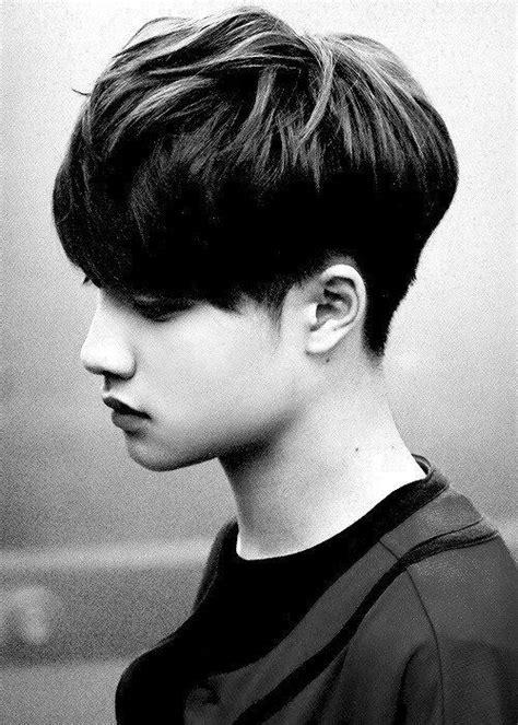 gaya rambut pendek pria korea  gaya rambut pendek