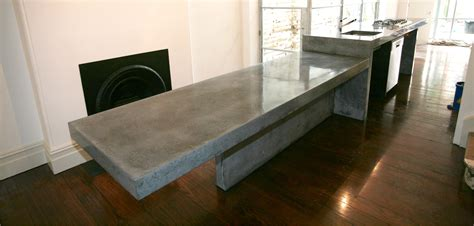 polished concrete kitchen island concrete by design 187 category 187 benchtops 4303