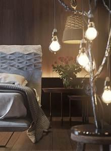 mur en bois pour une deco originale de chambre a coucher With chambre bébé design avec envoyer bouquet