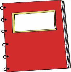 Red Spiral Notebook Clip Art - Red Spiral Notebook Vector ...