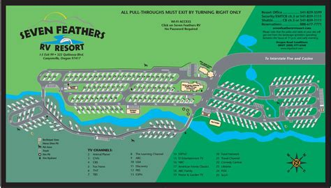 Seven Feathers Rv Park  Reserve Online Roverpass