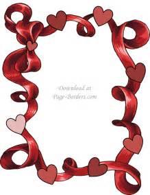 Free Printable Page Borders Heart