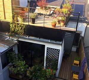 Terrasse Metallique Suspendue : terrasse metallique suspendue terrasse bois sur ossature metallique diverses id es de ~ Dallasstarsshop.com Idées de Décoration
