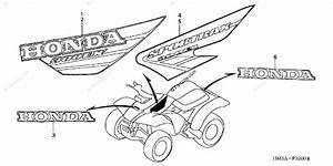 Honda Atv 2002 Oem Parts Diagram For Marks   U0026 39 01  U0026 39 02