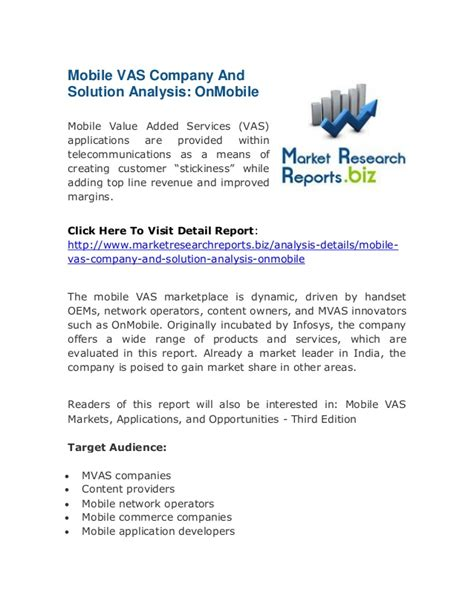 mobile vas companies mobile vas company and solution analysis onmobile top