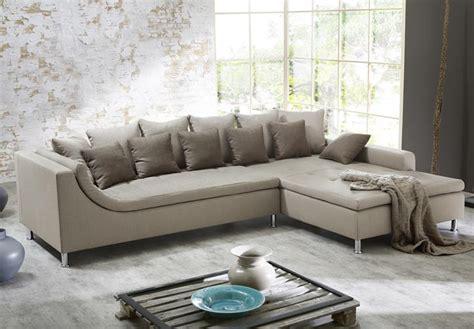Wohnlandschaft Montego Ecksofa Sofa Couch Mit Ottomane Mit