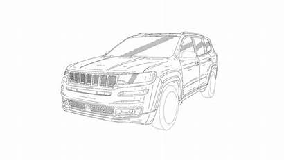 Jeep Suv Drawings Patent Row Drawing Seat
