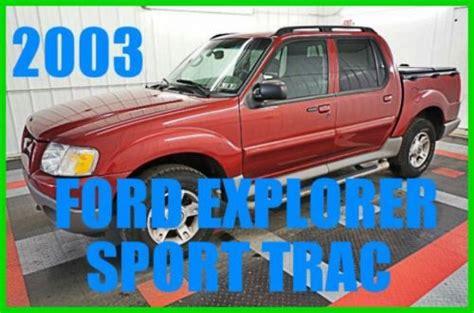 buy   ford explorer sport trac xlt   wd truck