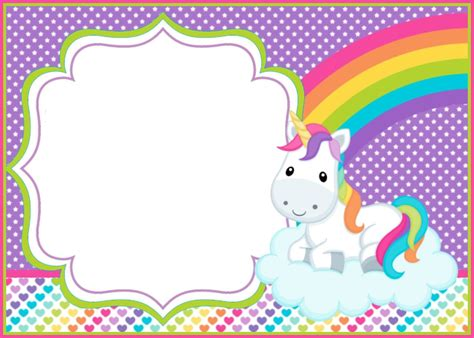 Unicorn Template Unicorn Template Portadas Y Gafetes