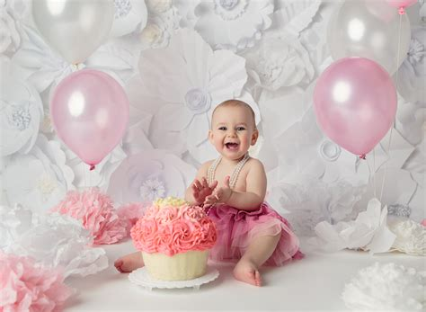 cake smash session  edmonton baby photographer