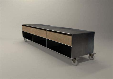Lowboard Design Möbel by Tv Sideboard Lowboard Eiche Auf Rollen Bestseller 039