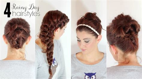 Picture Day Hairstyles For by 4 Hairstyles For Rainy Days