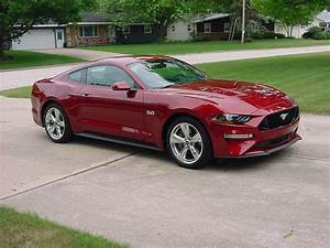 My month old Ruby Red - The Mustang Source - Ford Mustang Forums