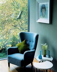 couleur bleu sarcelle ou quotteal bluequot tendance 2014 With couleur de meuble tendance 8 comment decorer un salon au look scandinave coaching deco
