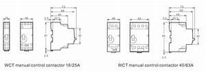 Manually Operated Modular Contactors Modular Contactors