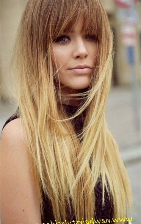 blonde hairstyles  fringe  httptrend